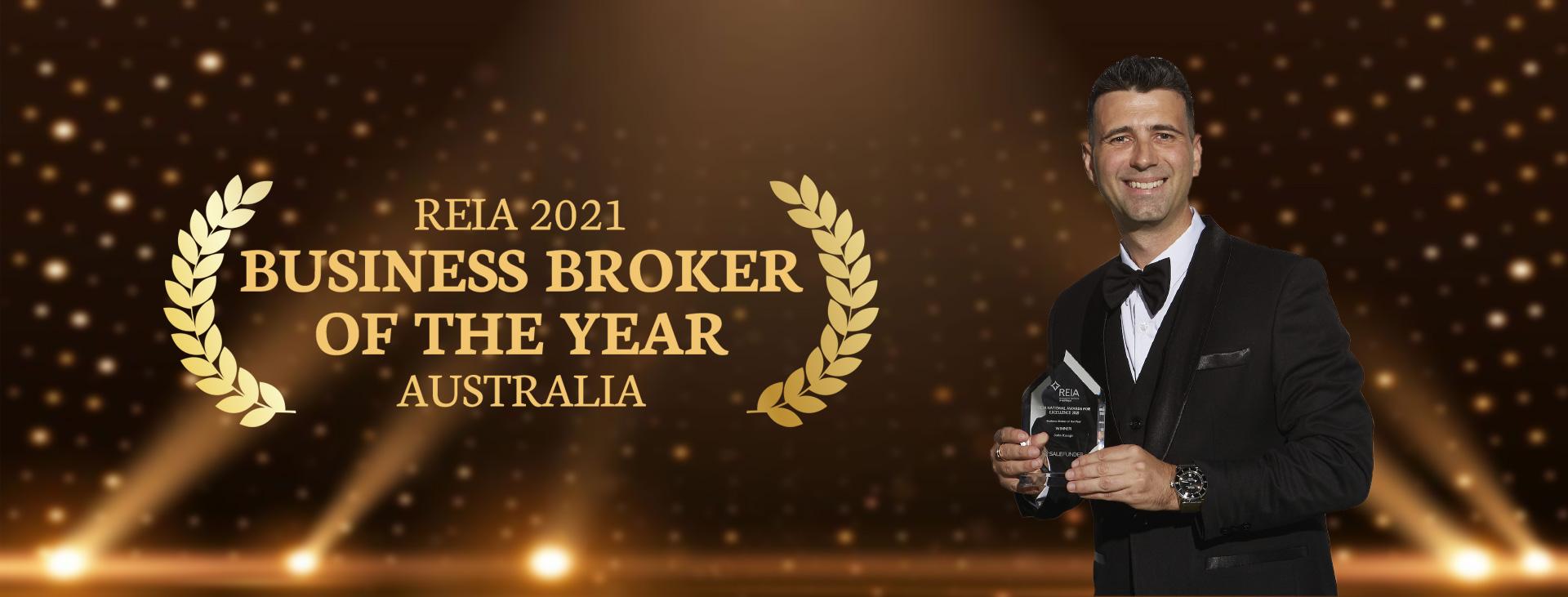 John Kasapi Award Winning Salon Business Broker REIA